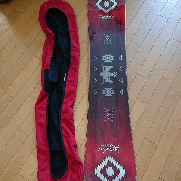 17-18 OGASAKA AST 152 アステリア スノーボード板 おまけあり