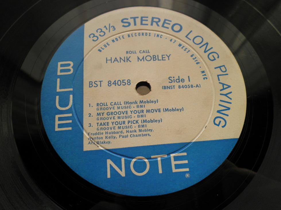 【オリジナル入手困難】HANK MOBLEY / Roll Call (DG,63rd,RVG,Ear,Blue Note)_画像3