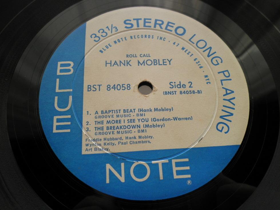 【オリジナル入手困難】HANK MOBLEY / Roll Call (DG,63rd,RVG,Ear,Blue Note)_画像4