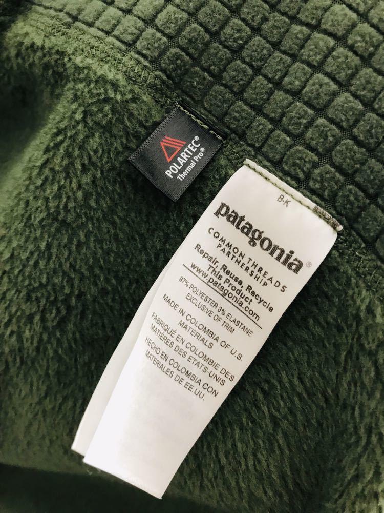美品 パタゴニアpatagonia R2ジャケット フリース S オリーブグリーン 25138_画像7