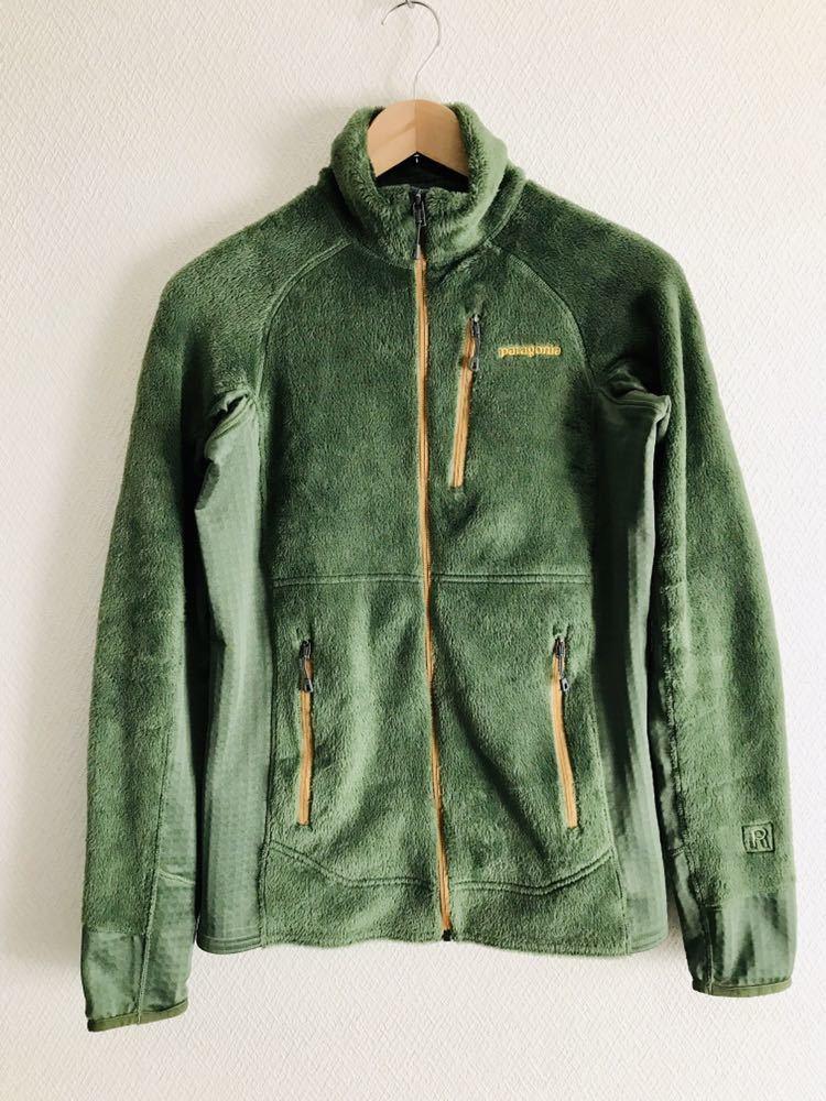 美品 パタゴニアpatagonia R2ジャケット フリース S オリーブグリーン 25138