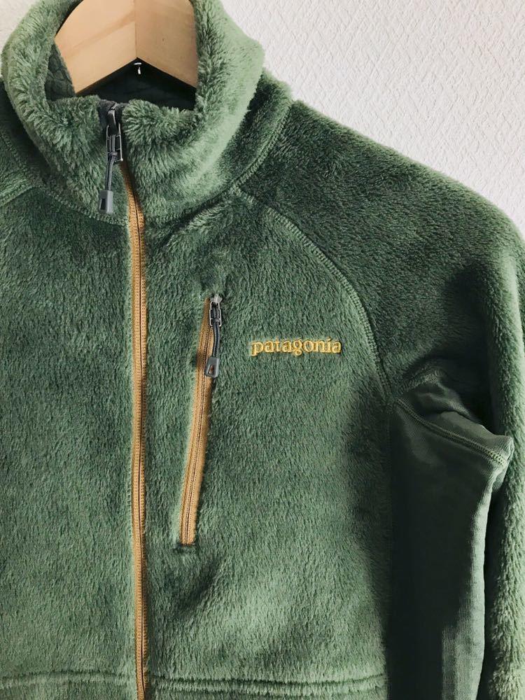 美品 パタゴニアpatagonia R2ジャケット フリース S オリーブグリーン 25138_画像3