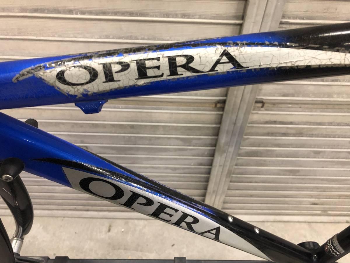 OPERA オペラ CELLINI アルミフレーム カーボンフォーク_画像4