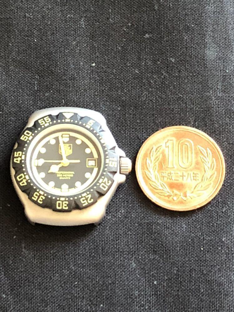 新品未使用 TAG HEUERタグホイヤー フォーミュラ1 プロフェッショナル200m 376.508 レディースダイバー クオーツ式腕時計 80~90年代?_画像5