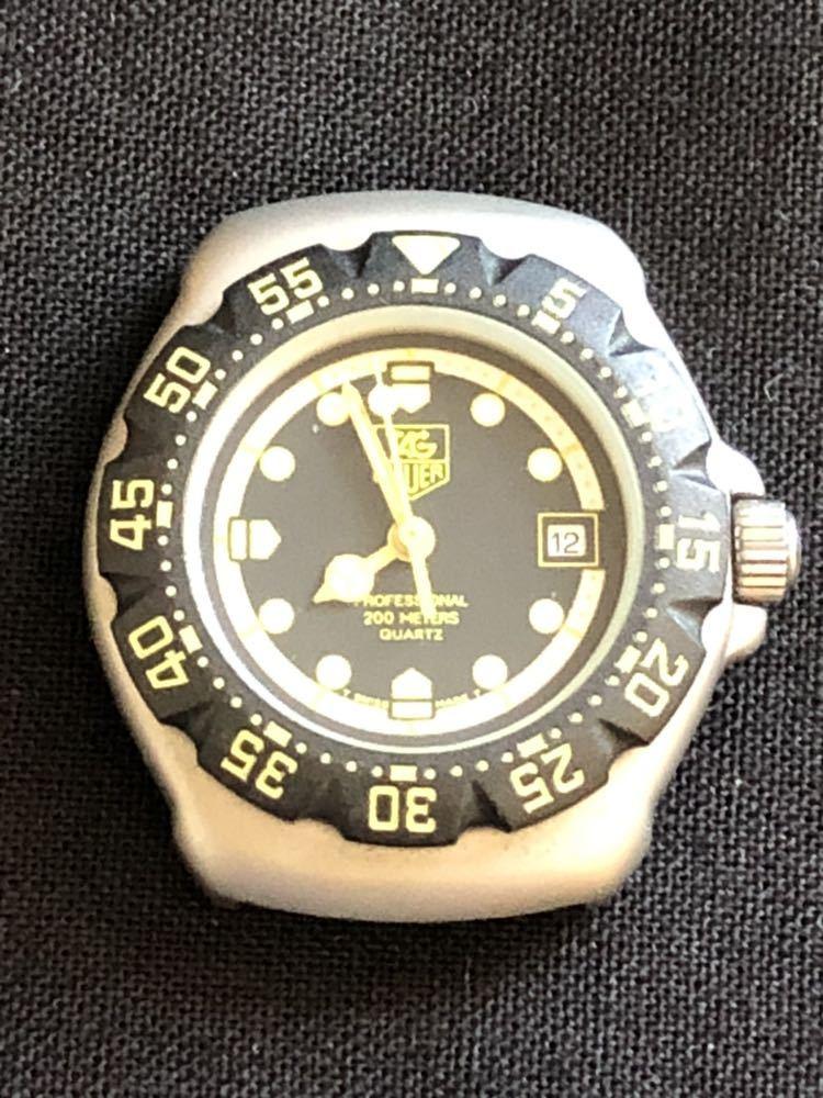 新品未使用 TAG HEUERタグホイヤー フォーミュラ1 プロフェッショナル200m 376.508 レディースダイバー クオーツ式腕時計 80~90年代?