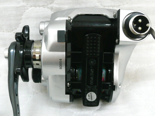 0.5km シマノ フォースマスター 400 SHIMANO ForceMaster 小型電動リール_画像6