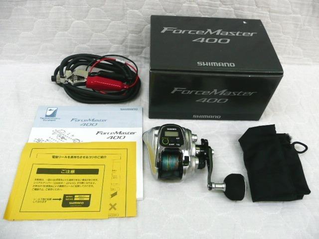 0.5km シマノ フォースマスター 400 SHIMANO ForceMaster 小型電動リール_画像10