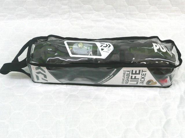 ダイワ ライフジャケット DF-2207 ブラックカモ 自動膨張式 ウエスト タイプA 桜マーク 国土交通省承認 遊漁船対応品 DAIWA