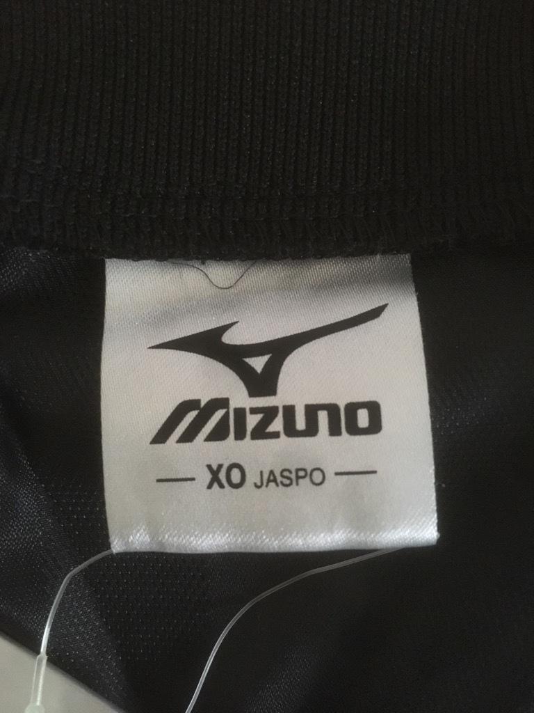 新品 ビッグサイズ MIZUNO ミズノ バックプリント付き ウインドブレーカー ピステ上下 セットアップ XO 黒×白_画像4