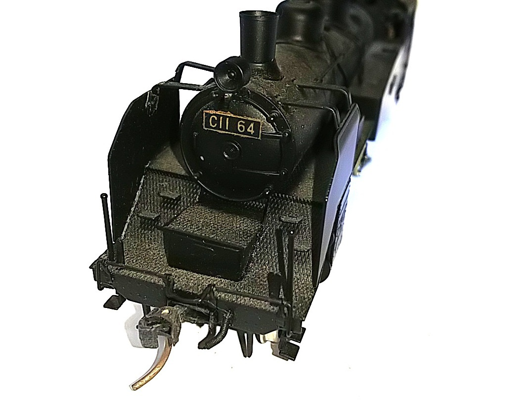 TOBY トビー模型 国鉄 C11形 蒸気機関車 HOゲージ 非可動品_画像2