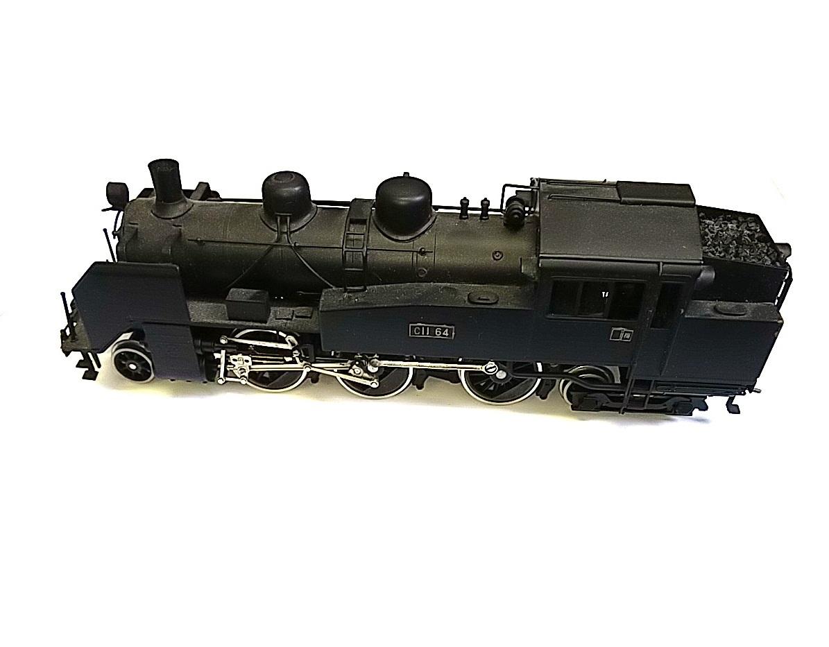 TOBY トビー模型 国鉄 C11形 蒸気機関車 HOゲージ 非可動品