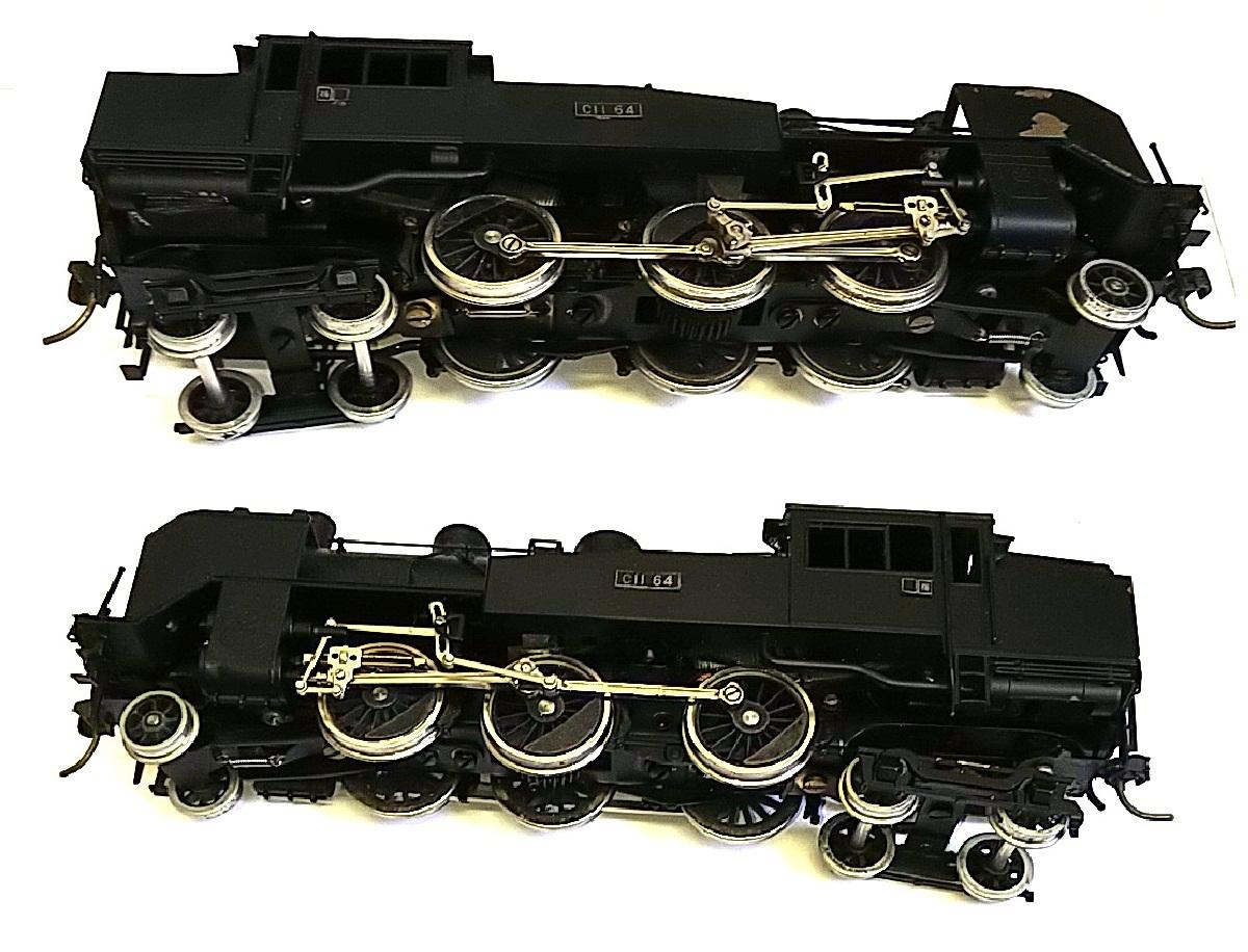 TOBY トビー模型 国鉄 C11形 蒸気機関車 HOゲージ 非可動品_画像5