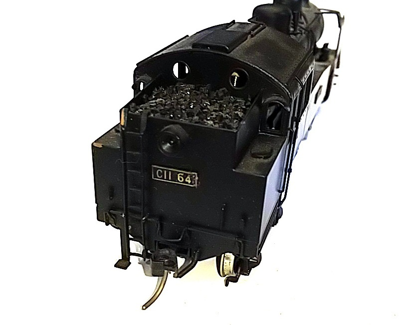TOBY トビー模型 国鉄 C11形 蒸気機関車 HOゲージ 非可動品_画像3