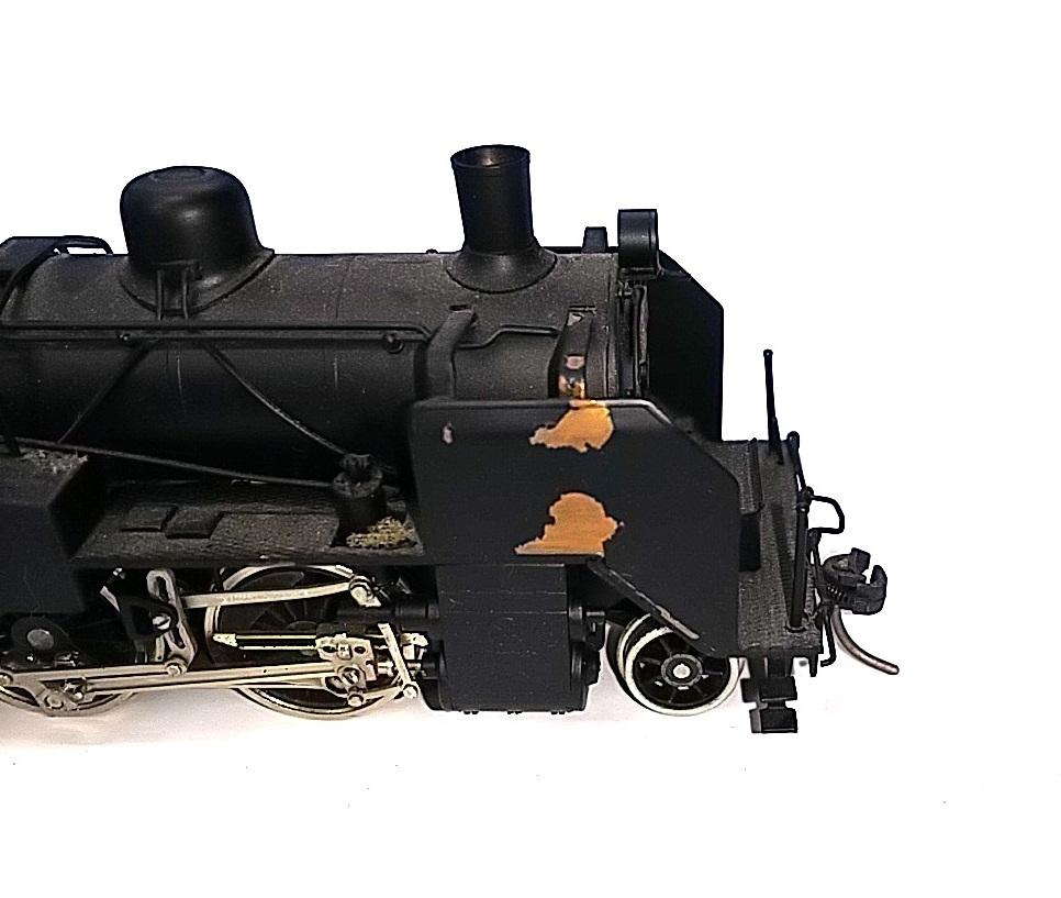 TOBY トビー模型 国鉄 C11形 蒸気機関車 HOゲージ 非可動品_画像4
