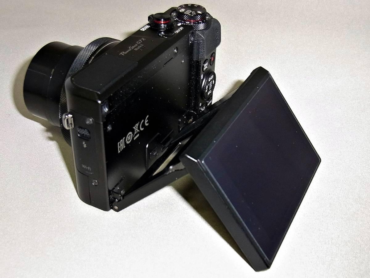 キャノン CANON デジタルカメラ PowerShot G7X MarkⅡ (ジャンク)_画像3