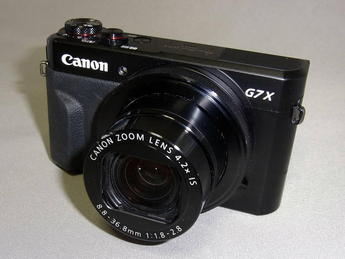 キャノン CANON デジタルカメラ PowerShot G7X MarkⅡ (ジャンク)_画像2