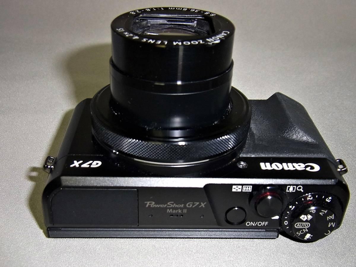 キャノン CANON デジタルカメラ PowerShot G7X MarkⅡ (ジャンク)_画像8