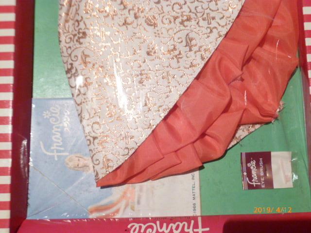ヴィンテージバービーのいとこ フランシーのドレス(サイズはバービーと同じです)_画像3