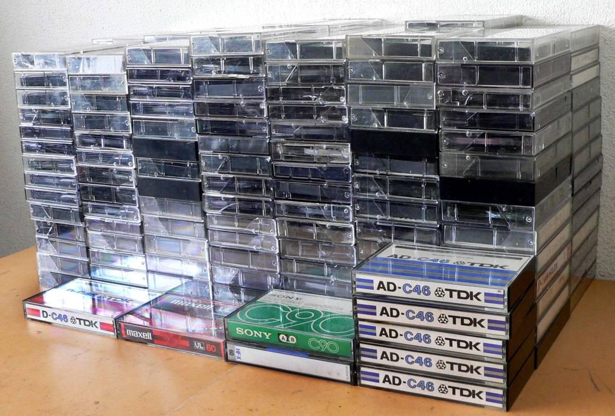 ★中古カセット テープ - 200本 / TDK、 SONY、maxell、他★_画像2