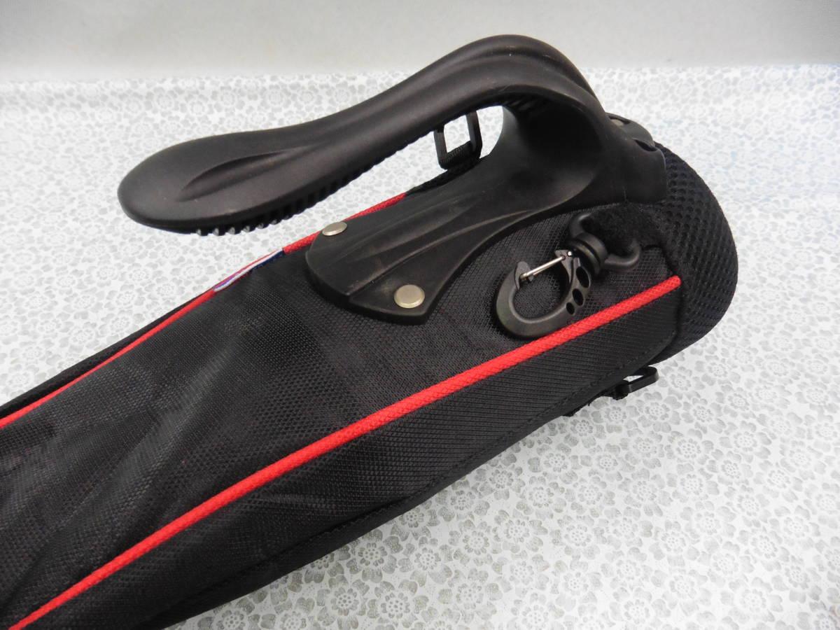 ゴルフ用品 US AT クラブケース 練習用 セルフ スタンド型 黒 USED S100 _画像3
