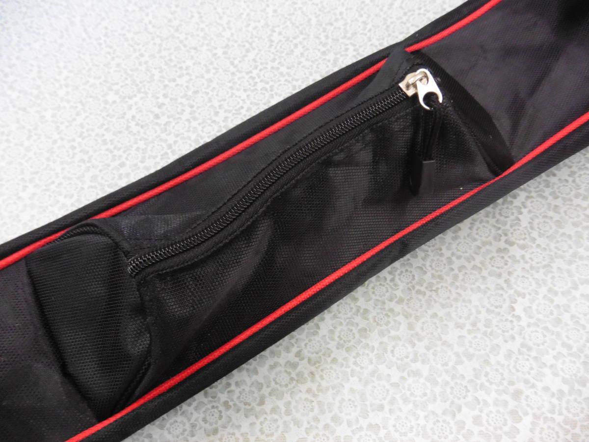ゴルフ用品 US AT クラブケース 練習用 セルフ スタンド型 黒 USED S100 _画像4