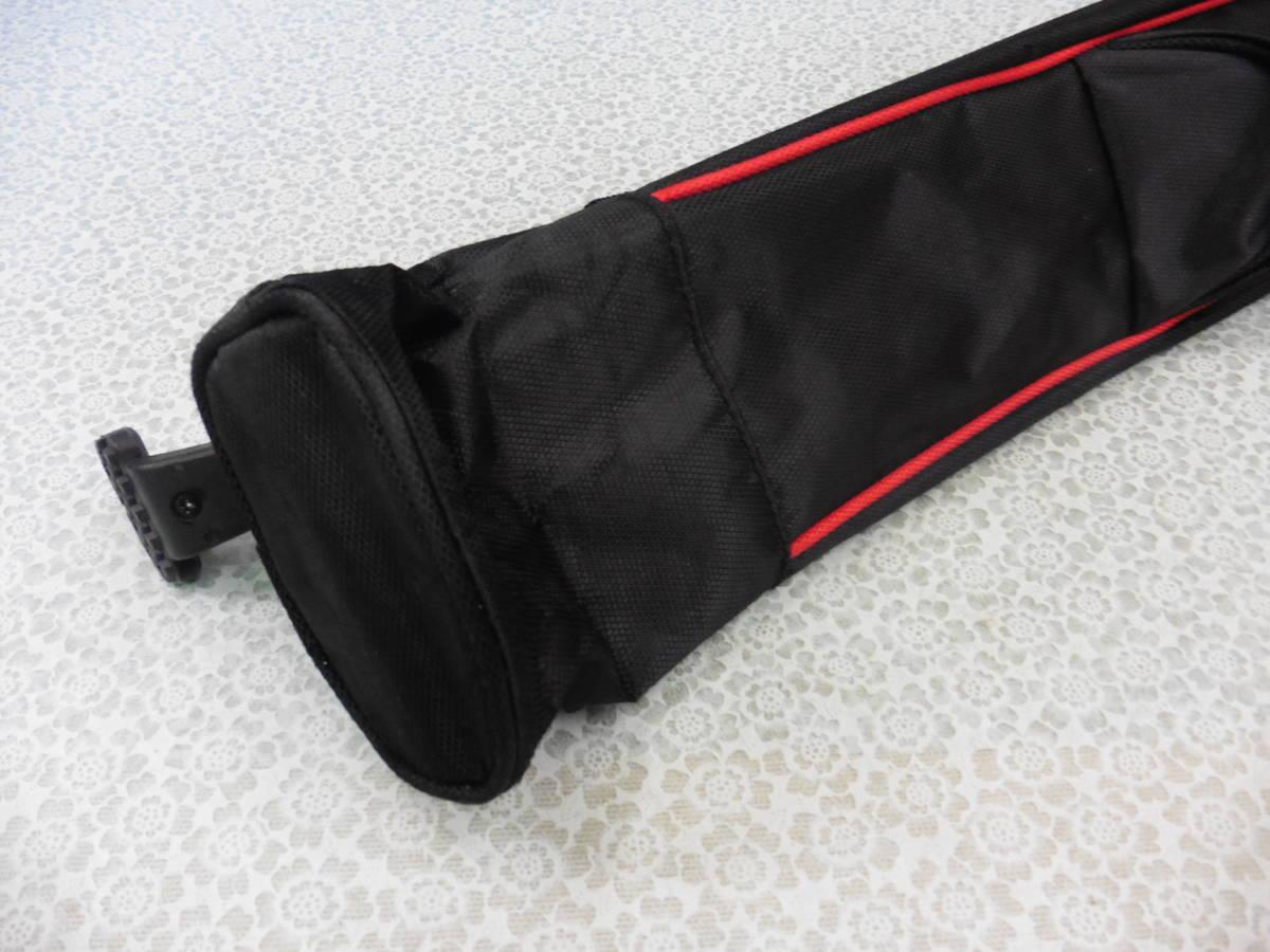 ゴルフ用品 US AT クラブケース 練習用 セルフ スタンド型 黒 USED S100 _画像5