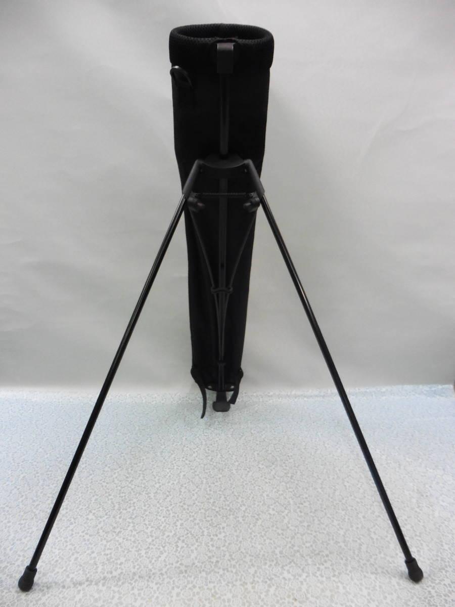 ゴルフ用品 US AT クラブケース 練習用 セルフ スタンド型 黒 USED S100 _画像10