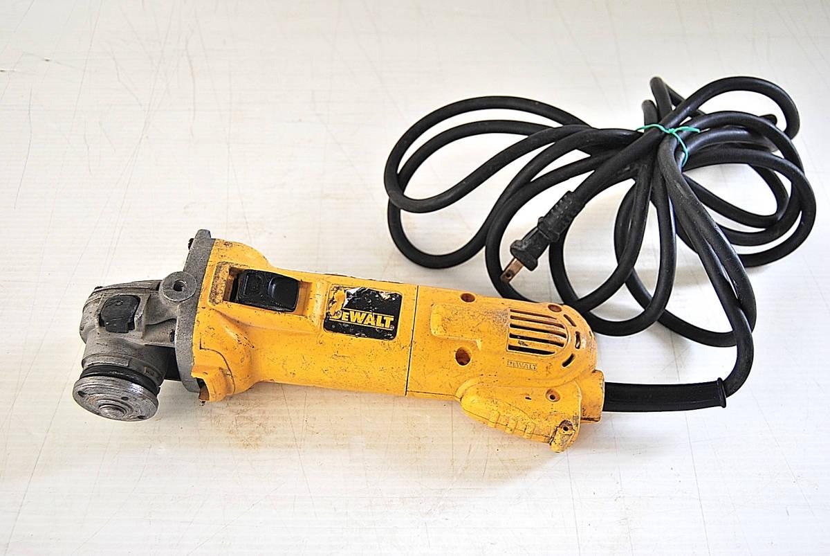 ディスクグラインダー サンダー DEWALT デウォルト D28800 サンダー 切断機 研磨機 掘削 電動工具 ツール 自動車整備機械工具 確認済_画像1