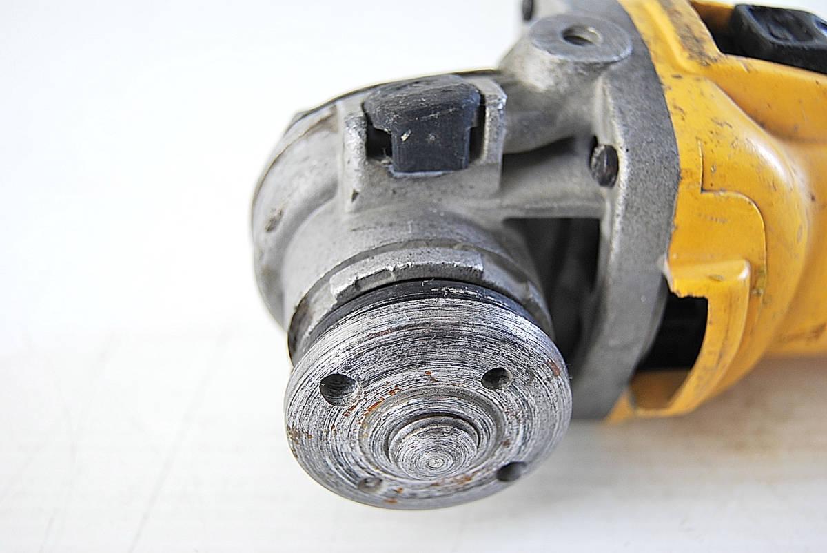 ディスクグラインダー サンダー DEWALT デウォルト D28800 サンダー 切断機 研磨機 掘削 電動工具 ツール 自動車整備機械工具 確認済_画像3