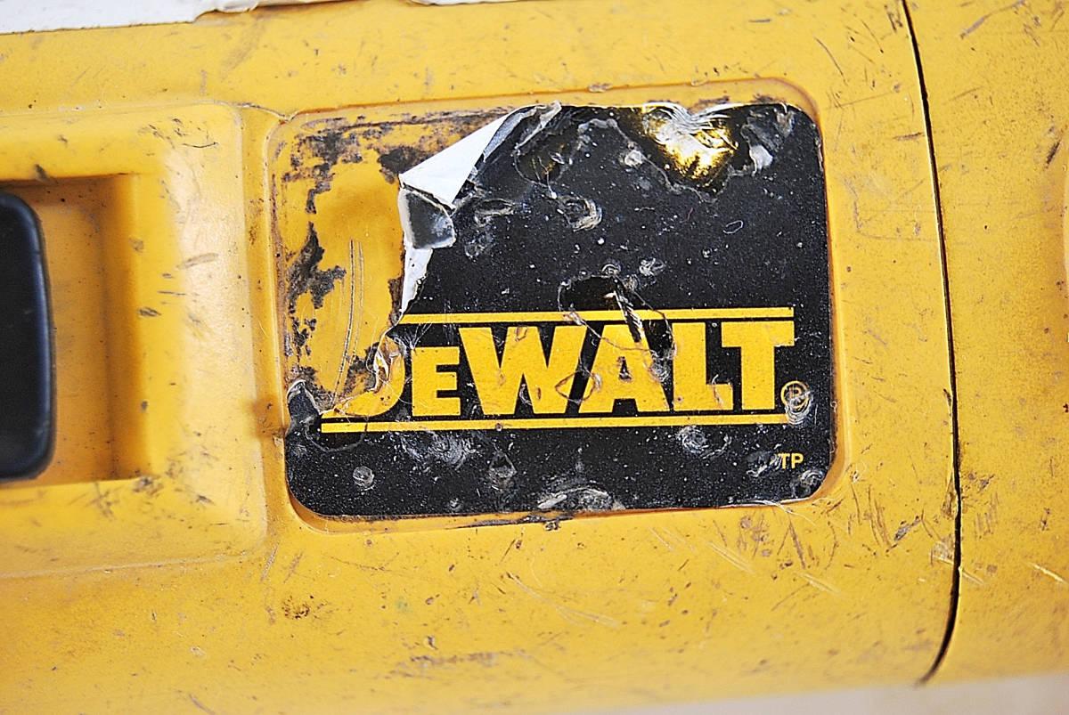 ディスクグラインダー サンダー DEWALT デウォルト D28800 サンダー 切断機 研磨機 掘削 電動工具 ツール 自動車整備機械工具 確認済_画像2