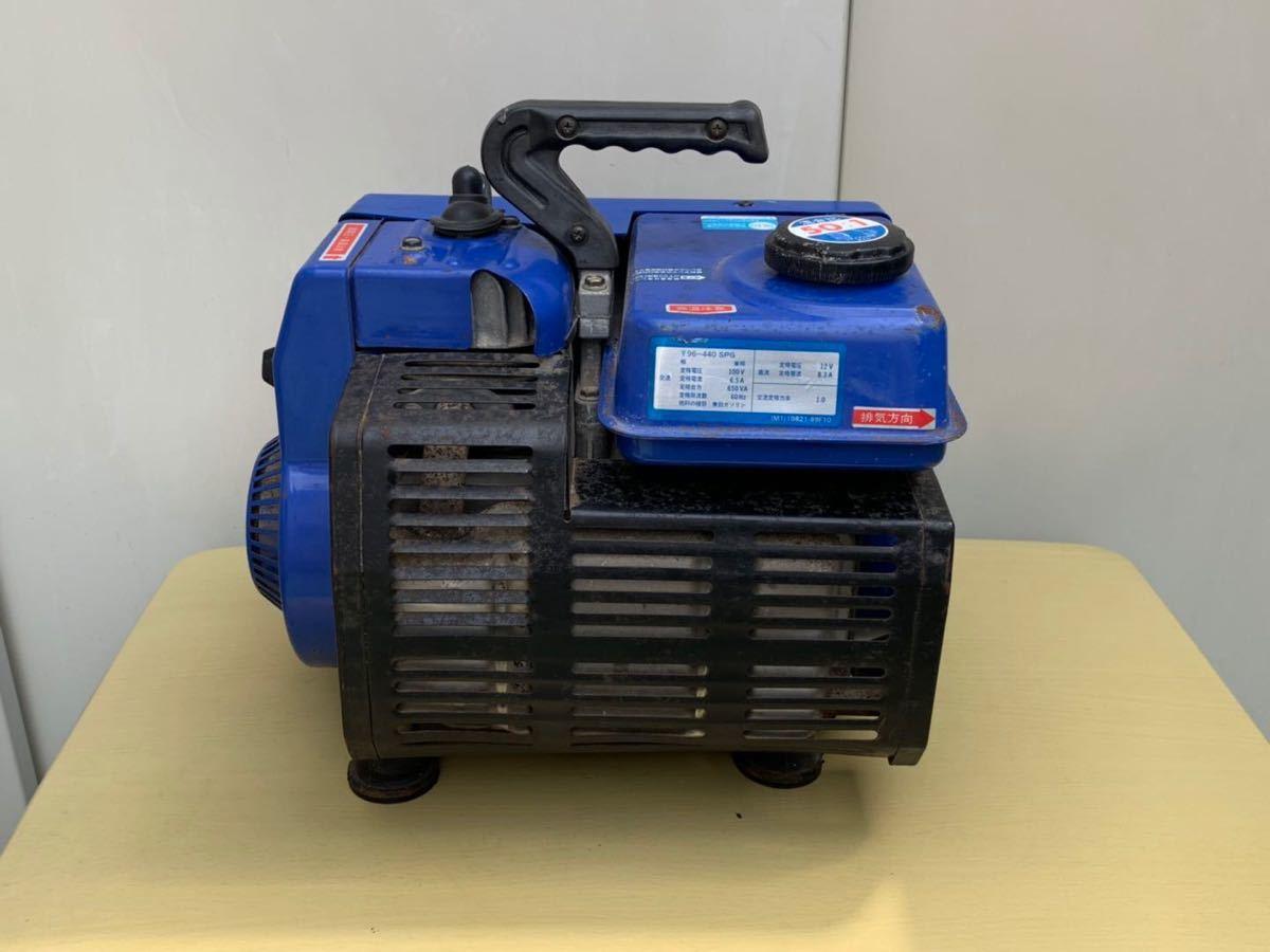 【ジャンク】SUZUKIスズキ 発電機/SX650R、ブラシレス 小型発電機 60Hz、動作未確認現状品_画像7