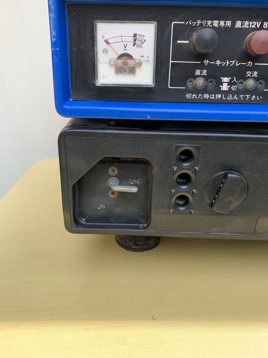 【ジャンク】SUZUKIスズキ 発電機/SX650R、ブラシレス 小型発電機 60Hz、動作未確認現状品_画像5