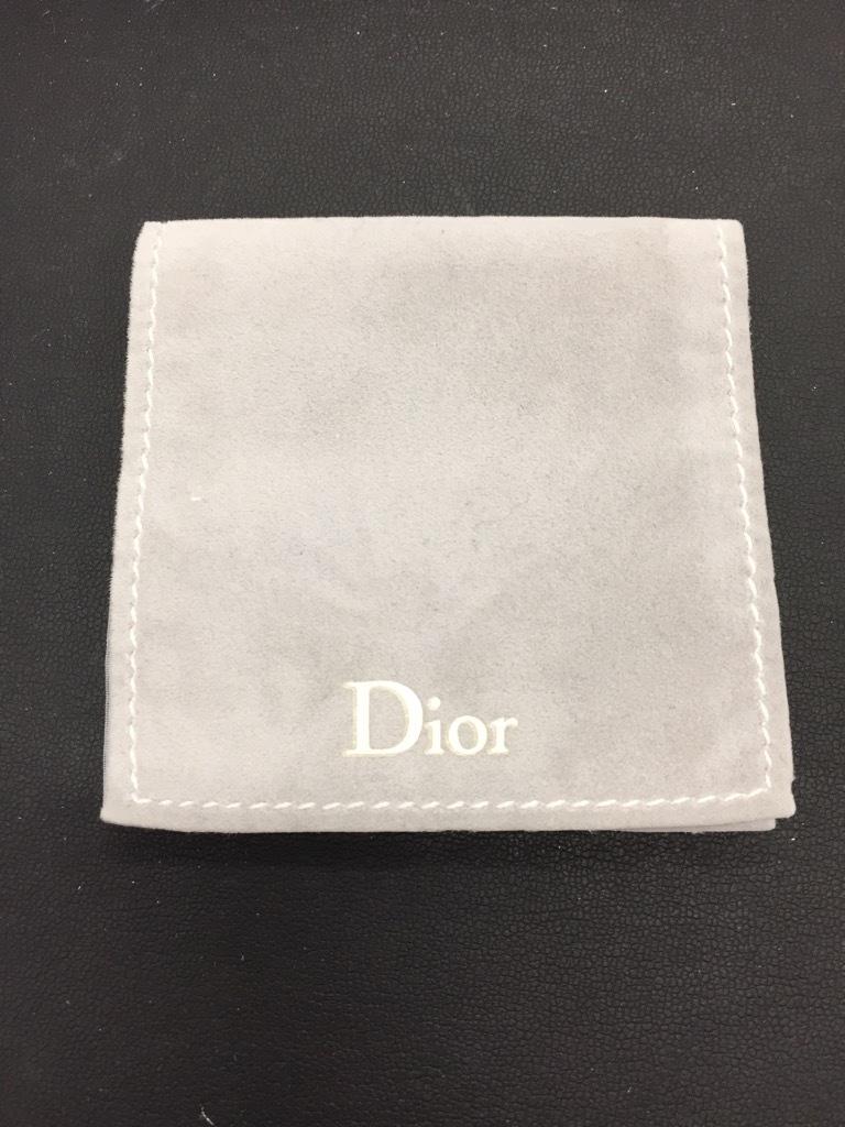 『4782』  Christian Dior ディオール ネックレス リボンモチーフ チェーン40cm_画像5