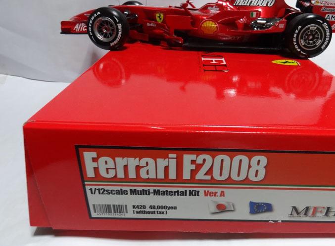1/12 フェラーリ F2008 Ver.A 完成品 MFH _画像9