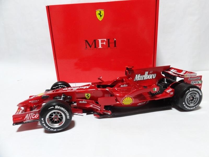 1/12 フェラーリ F2008 Ver.A 完成品 MFH _画像7