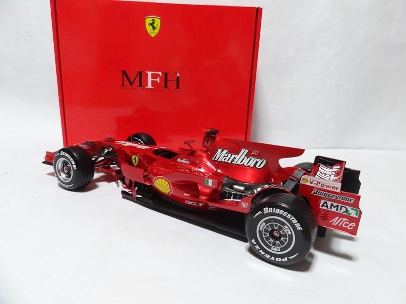 1/12 フェラーリ F2008 Ver.A 完成品 MFH _画像5