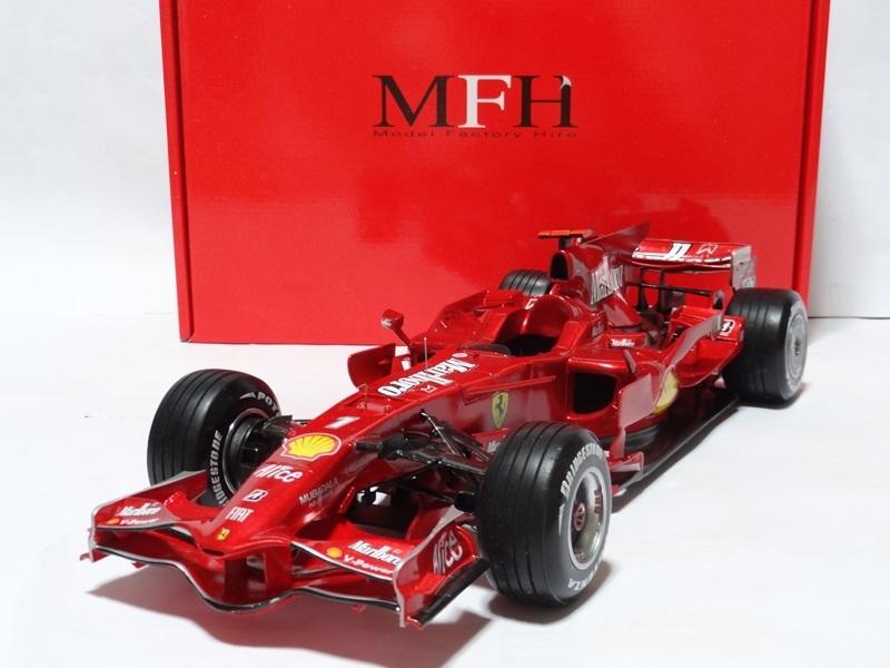 1/12 フェラーリ F2008 Ver.A 完成品 MFH _画像2