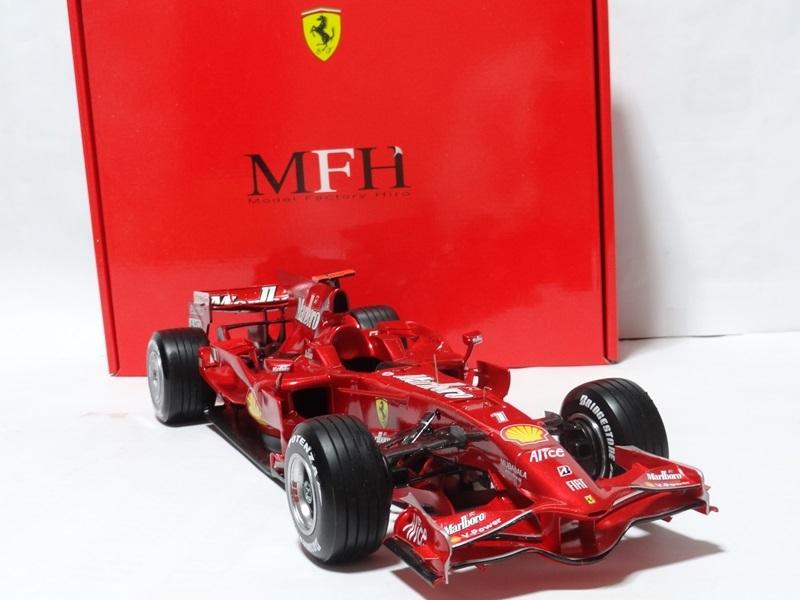 1/12 フェラーリ F2008 Ver.A 完成品 MFH _画像3