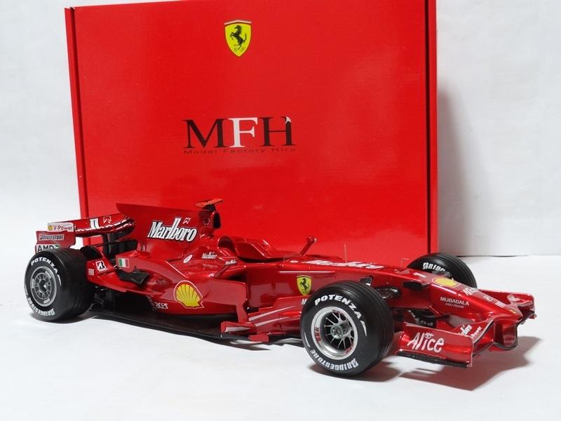 1/12 フェラーリ F2008 Ver.A 完成品 MFH _画像4