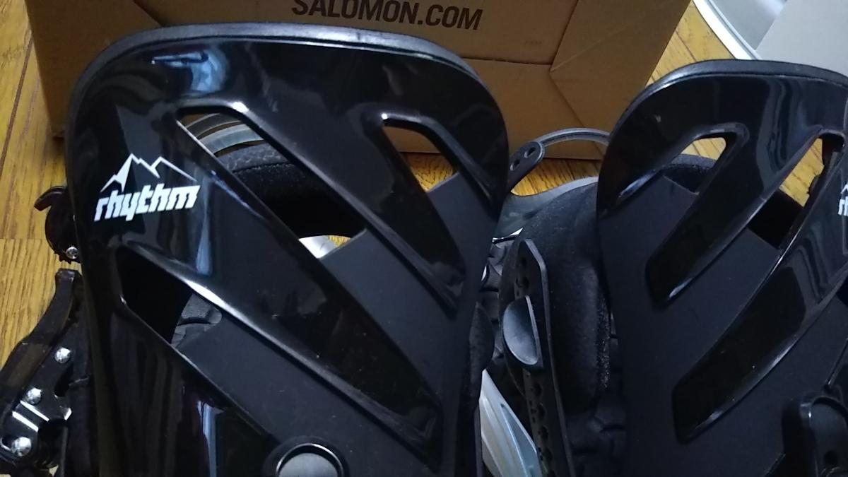 2018モデル SALOMON サロモン ビンディング RHYTHM サイズM Black/White_画像8