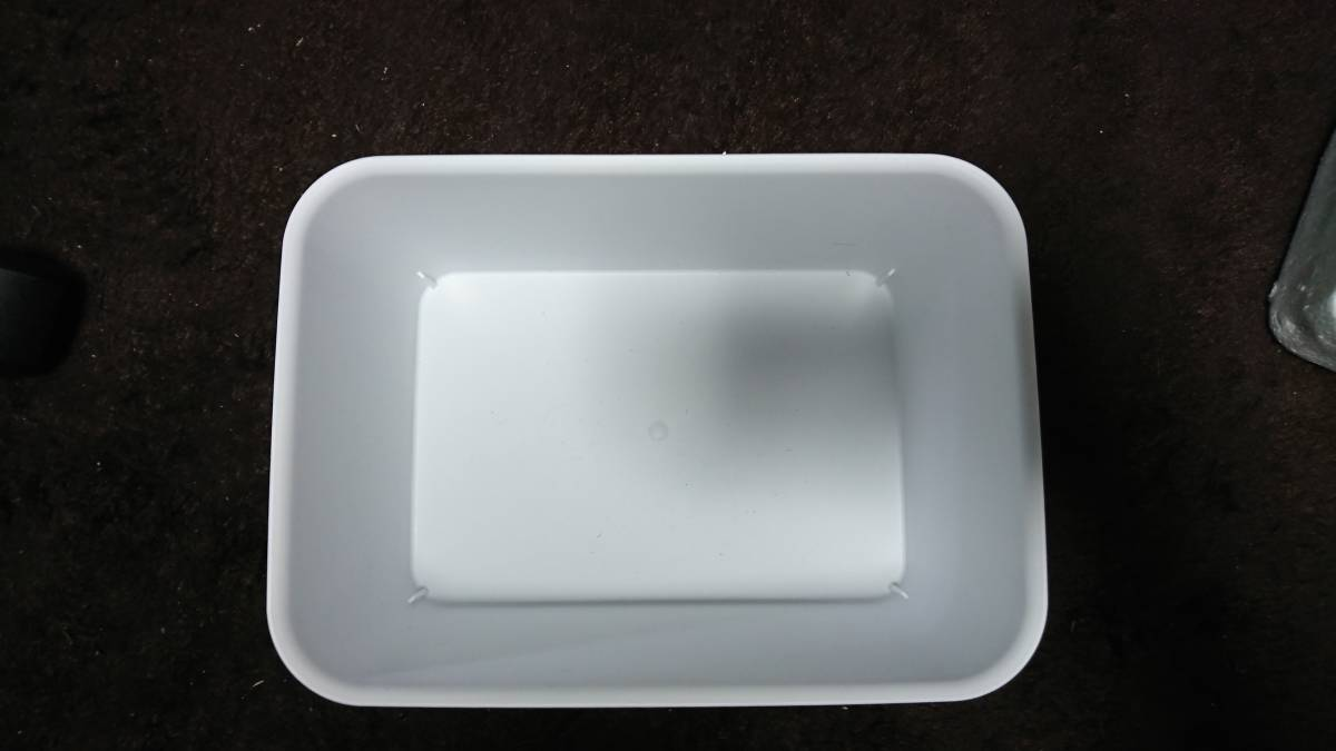 めだか メダカ 飼育 容器 白 3個セット 未使用品_画像5