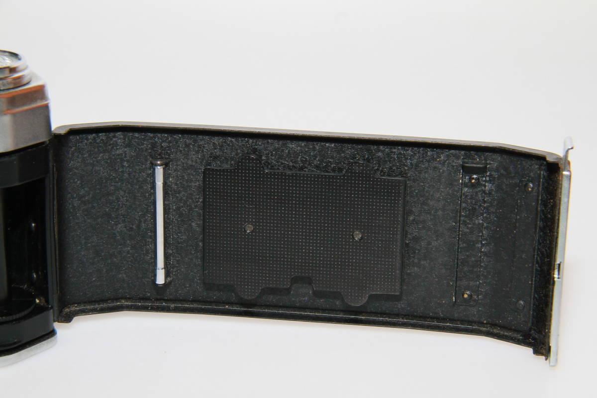 キレイな中古MAMIYA MAMIYA-SEKOR F.C.4.8cm F1.9 メタルキャップ、ストラップ付、作動確認済み_画像7