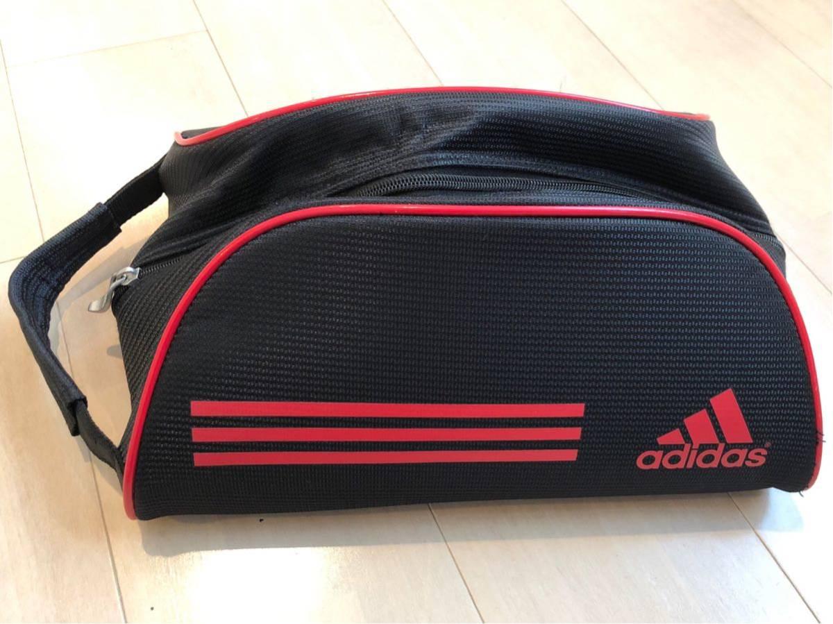 adidas☆アディダス・シューズバッグ(シューズケース)