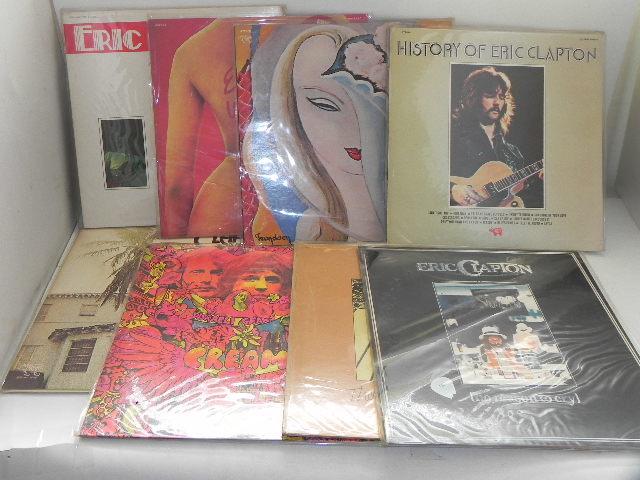 LPレコード☆Eric Clapton /エリック・クラプトン☆8枚まとめて!