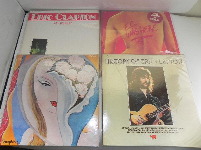LPレコード☆Eric Clapton /エリック・クラプトン☆8枚まとめて!_画像2