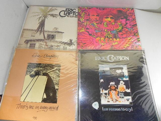 LPレコード☆Eric Clapton /エリック・クラプトン☆8枚まとめて!_画像4