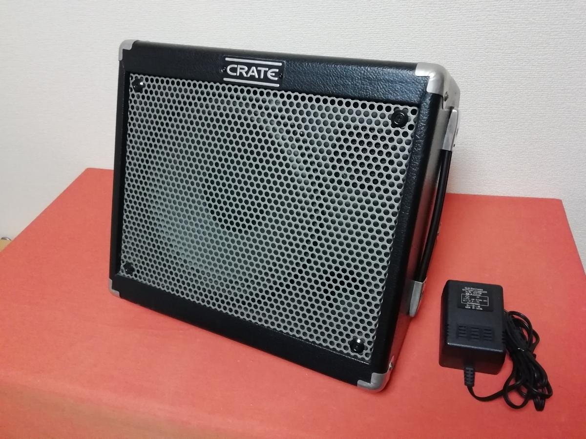 CRATE TX50D Limo/充電式 動作OK バッテリー新品 路上 ウッドキャビタイプ