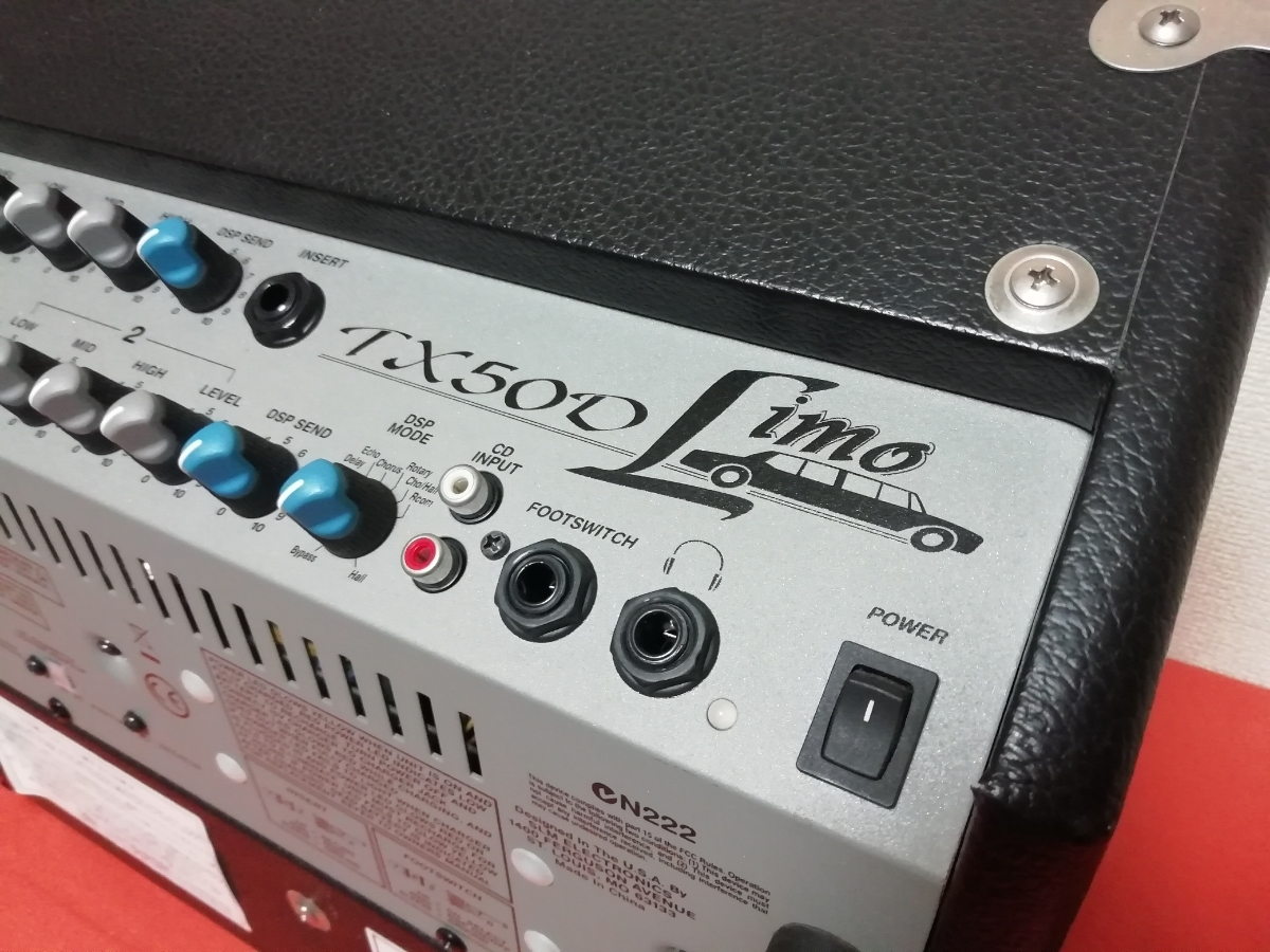 CRATE TX50D Limo/充電式 動作OK バッテリー新品 路上 ウッドキャビタイプ_画像3