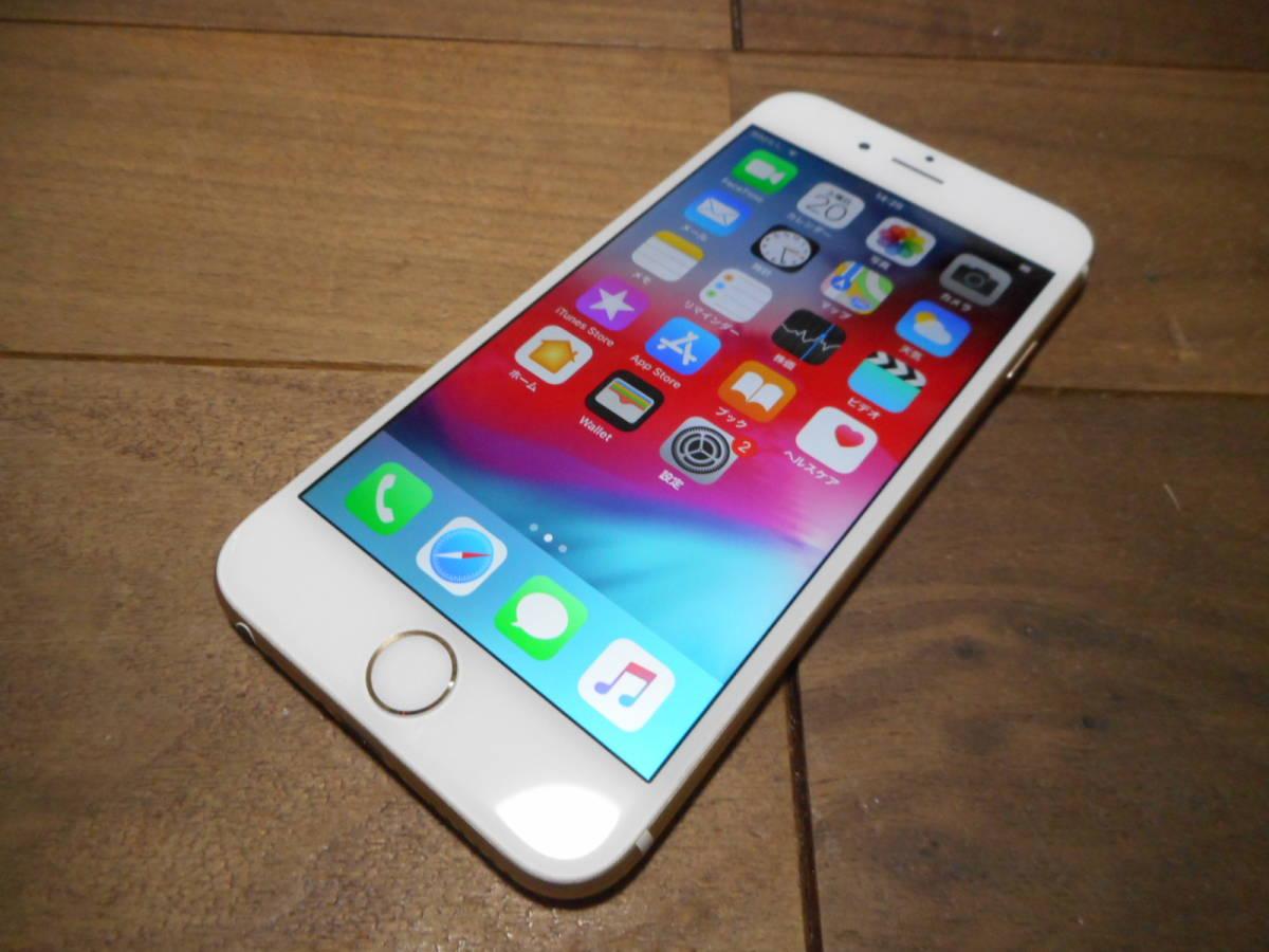①【送料無料】完動品iPhone6本体16GBゴールドSoftbank白ロム判定〇【動作確認済み1円スタート】