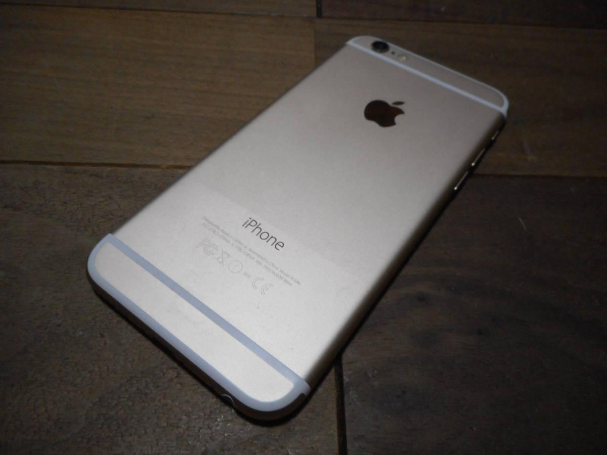 ①【送料無料】完動品iPhone6本体16GBゴールドSoftbank白ロム判定〇【動作確認済み1円スタート】_画像4
